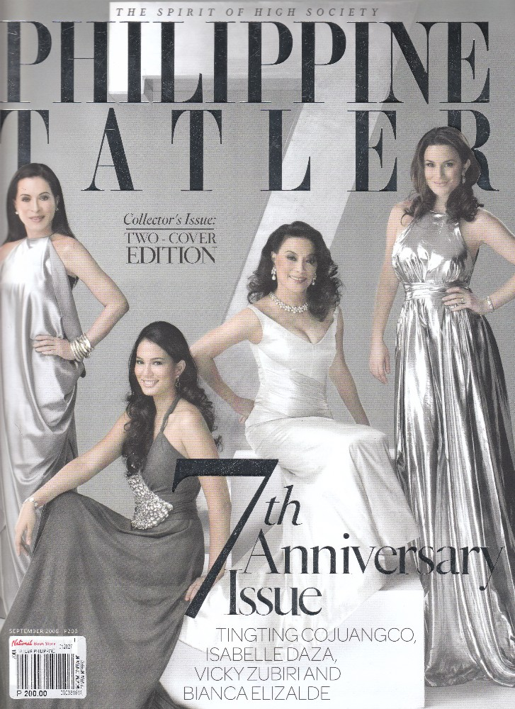 Bianca Elizalde And Isabelle Daza On Philippine Tatler