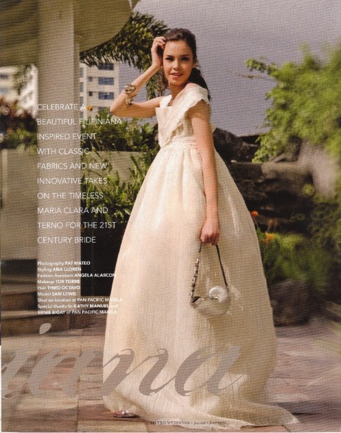 METRO Weddings: Modern Filipiniana