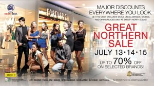 The Great Northern Sale 2012 at SM City North Edsa