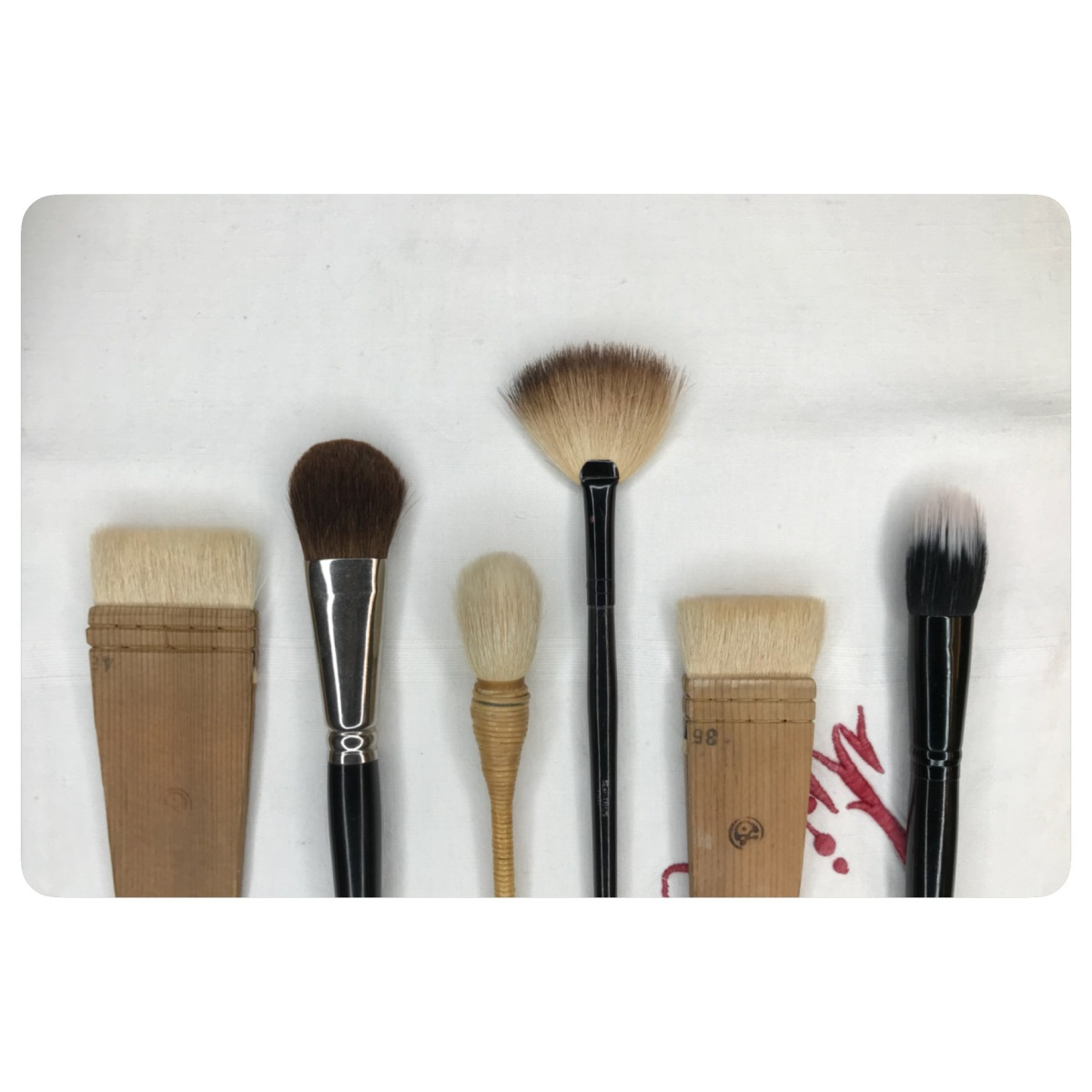 Favorite Brushes for Blush, Contour and Highlight Application